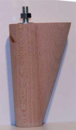Bed/bank poot bep23  12cm hoog ovaal 50x72mm