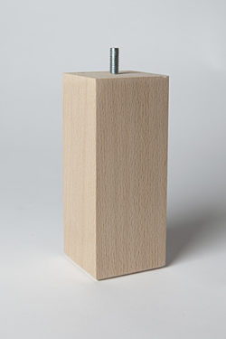 Bed/bank poot bep16c 16cm hoog  6,4x6,4 cm
